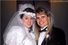 1980s real vintage weddings
