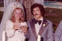 1970s real vintage weddings