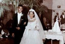 1950s real vintage weddings