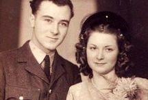 1940s real vintage weddings