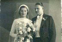 1930s real vintage weddings