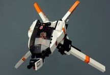 LEGO creations / Mostly spacecrafts (and other scifi)