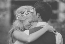 The Happy Couple / Photos of the Happy Couple . . . from engagement photo ideas, to the big day