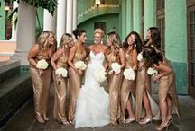 The Wedding Party / Everything wedding party! Ways to ask your bridesmaids to be in your wedding, wedding party gifts, color palette ideas, flower girl & ring bearer, the bouquets, the tuxes