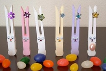 easter / easter decor, easter foods, easter egg decor, easter egg ideas,kid crafts, kid gifts / by Tiffany McNett Fisher