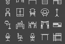 Design | Icons & symbols / In this board I collect icons and symbols for inspiration for future works.