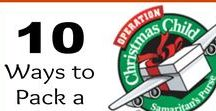 Operation Christmas Child Crafts / Operation Christmas Child is run by Samaritans Purse and helps kids by packing gifts, toys and prayers for children in a simple shoebox for Christmas. http://mummydeals.org/operation-christmas-child-ideas/ Here are ways to pack a shoebox with tons of ideas, crafts and tips from @mummydeals. #occ #occshoebox #shoeboxes #operationchristmaschild