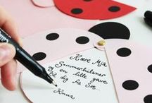 Layout | Invitations / Inspirations for invitations and stationary.