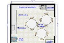 Floor Plans / Example floorplans created by SmartDraw. / by SmartDraw