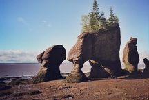 New Brunswick // Nouveau-Brunswick / From its beaches, to its cities, to its provincial and national parks, Canada's province of New Brunswick begs for epic road trip plans...