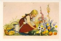 vintage gardening / by Kathy S Gwin