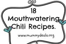 Chili. / There are so many awesome chili recipes out there so I'm putting them all together on one board with the help of some other awesome bloggers! Check out our full list of 18 great chilis here http://mummydeals.org/chili-recipes/ and meet some new chili cooks!