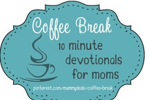 Coffee Break / MEET THE CONTRIBUTORS: http://mummydeals.org/coffee-break/ #coffeebreak Coffee Break is a way for us to virtually enter your living room, pour you a cup of coffee and let you exhale. We want to be tools to reach broken families, guilt ridden hearts and struggling housewives.