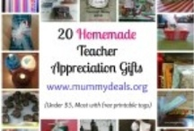 Teacher Appreciation / Teachers are awesome and meant to be appreciated but there are some things that make better homemade gifts than others {read: no mugs!} / by Clair @ Mummy Deals