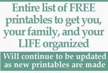 PRINTABLE LISTS, ETC. / by Shellie Denham