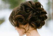 2nd WEDDING HAIR IDEAS & MAKEUP / by Shellie Denham