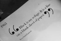 La Mode en noire et blanche