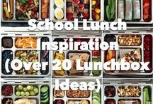 School Lunch Ideas / Ideas for great school lunches.