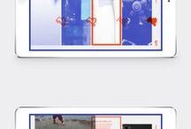 Layout | iPad / Layout inspiration for Ipad design.