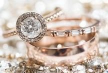 Put a Ring On It! / From classic to modern, simple to exquisite. Check out different designs for wedding rings!