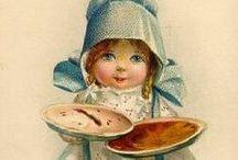 Vintage Thanksgiving / Vintage Thanksgiving art, postcards, ceramics, decor--you name it!