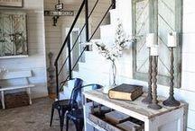 Farmhouse Love! / Texas farmhouses, farmhouse style & decor, vintage farmhouses and modern ones