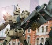 Best Gundam models (Gunplas) / A selection of the best Gundam models (Gunplas) seen on Pinterest
