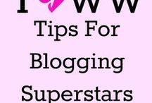 Tips For Blogging Superstars! / Tips that I use to help me as a travel blogger. Right now, I'm still a newbie, so these are other people's posts I use to help me become a superstar one day!