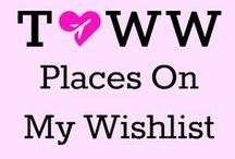 Places On My Wishlist / Places that give me #wanderlust and inspire me to travel there.
