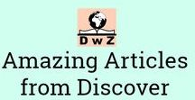 Amazing Articles from Discover With Zainab / Wow what an AMAZING blog you have! That's what you'll say when you read all the stuff on Discover With Zainab http://discoverwithzainab.com/ ... (I hope)