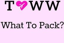 What to pack??!! / Packing tips for all types of travel. Suitcases at the ready..