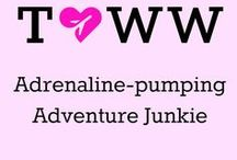 Adrenaline-pumping adventure travel / Time for a travel adventure! Hiking, climbing and extreme sports at the ready!