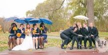 Rainy Day Wedding / Weather through any storm on your big day!