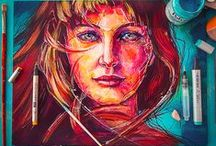 Art and creative / Collected pieces of amazing artworks.
