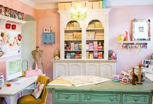 Craft Room Inspiration / Storage/Work Space