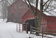 Barns and bridges / by StanandPolly Thornburgh