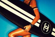 Summer glamour / Glamorous and sizzling hot summertime editorials