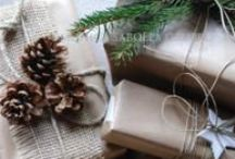 Natural Holiday Ideas / Ways to celebrate, decorate, eat, or give during the holidays that are natural/eco-friendly/green.
