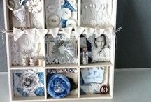 Altered Boxes and Shadow Boxes / by Wendy Foster