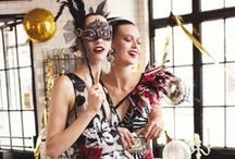 Christmas and New Year's Editorials / Beautiful fashion editorials focused around Christmas and New Year's festivities