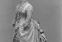 Suknie XIX wiek 1870-1889