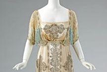 Suknie XX wiek 1910-1919
