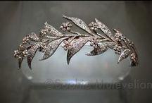 Tiary angielskie - Fife floral tiara