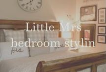 Little Mrs bedroom stylin / I need more sleep... / by Becki Anderson