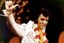 """Everything Elvis / The Greatest Entertainer of All Time   """"Collections that connect us to experiences we once valued, or to the special people who have crossed our paths, don't make us weird;  they make us human.""""  Paul Wood / by Pat Nolen"""