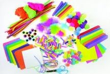 Craft Supplies for Kids / by Crafty Frames