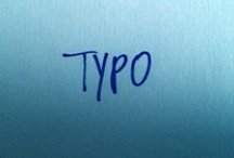 typo / by Caroline Bergmann