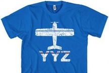 Airport T-shirts / Our vintage style airport code tees for the traveler in you!