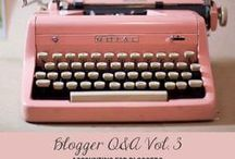 Blogging Tips & Tricks / I have pinned informative blog posts and articles that are helpful in building a blog, social marketing, blog writing, monetizing, getting more blog traffic, and how bloggers do their taxes!