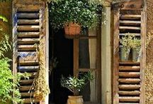A French Country Affair / I love the countryside and would love to visit France.  The pins on this board depict my reflections of what it might be like to be in the French countryside. / by Kathy Stevens